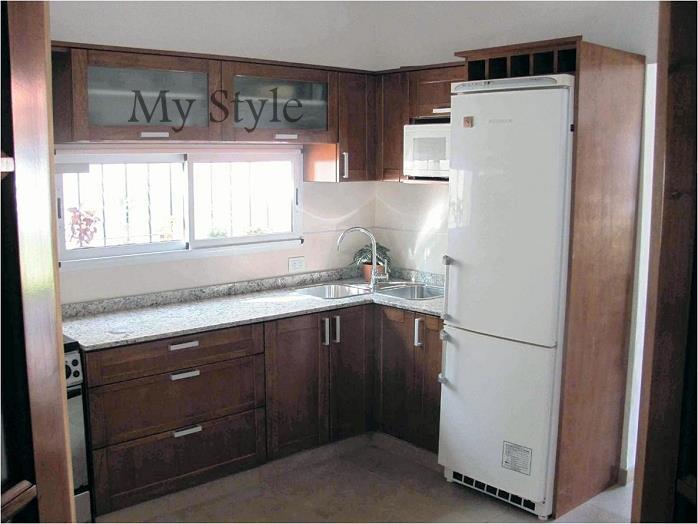 Muebles de cocina de madera precios dise os for Muebles de algarrobo precios
