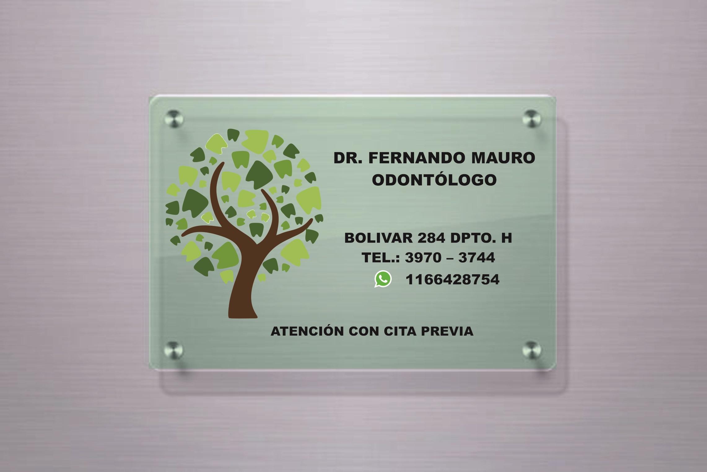 Odontolog A Integral Fernando Mauro Direcci N Y Tel Fono De  # Muebles Odontologicos